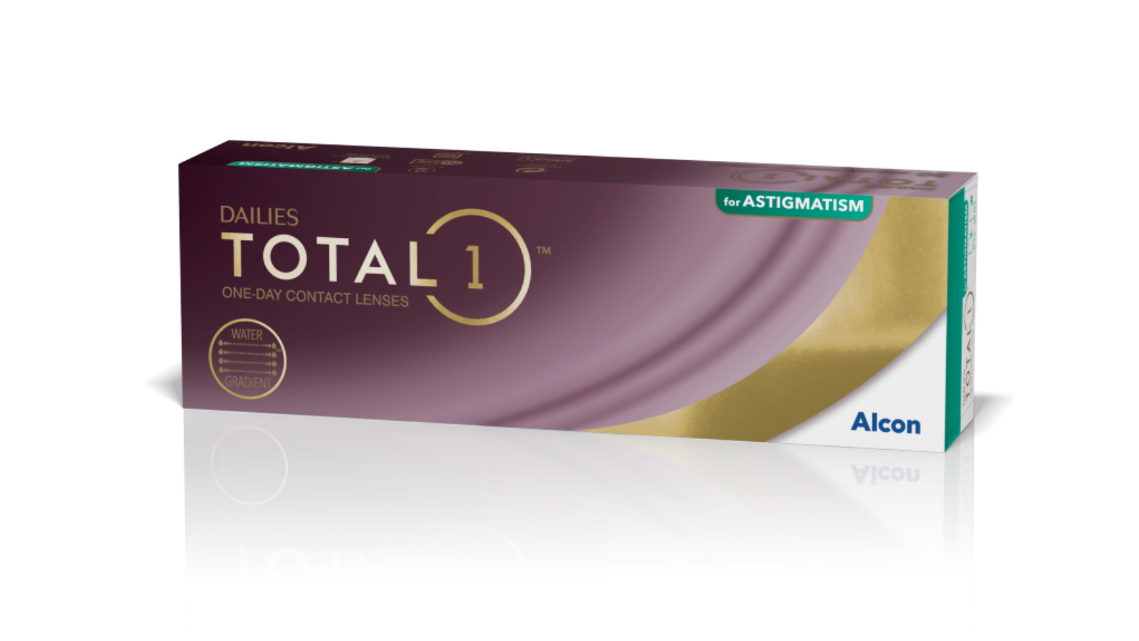 DAILIES TOTAL1® for Astigmatism